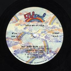 Hit and Run Twelve Inch